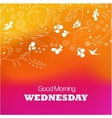 Wednesday vector