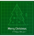 Green graph paper vector