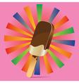 Chocolate ice cream background3 vector