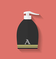 Icon of lotion flat style vector