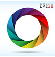 Colorful camera shutter background eps10 vector