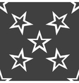 Star web icon flat design seamless gray pattern vector