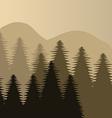 Forest design vector
