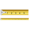 Measuring tape vector