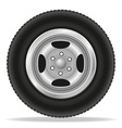 Wheel for car 02 vector