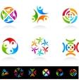 Collection of social media vector