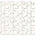 Seamless pattern with abstract circle doodle vector