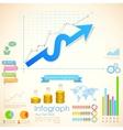 Business infographics chart vector