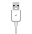 usb plug vector