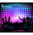 Disco dance vector
