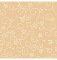 Light beige seamless background with swirl texture vector