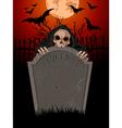 Halloween grim reaper vector
