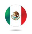 Flag icon button vector