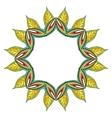 Flower mandala vector
