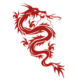 Dragon a symbol of oriental culture vector