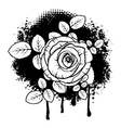 Rose design vector