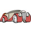 Luxury mafia car vector
