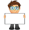 Business man blank sign 12 vector