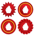 Muffin sign icon sweet cake symbol vector