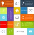 Infographic background design vector
