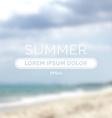 Summer time retro defocused old background vector