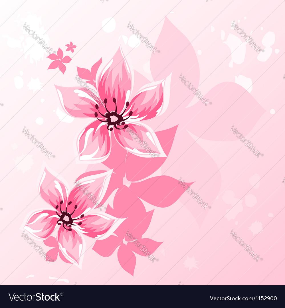 Cherry blossom vector | Price: 1 Credit (USD $1)