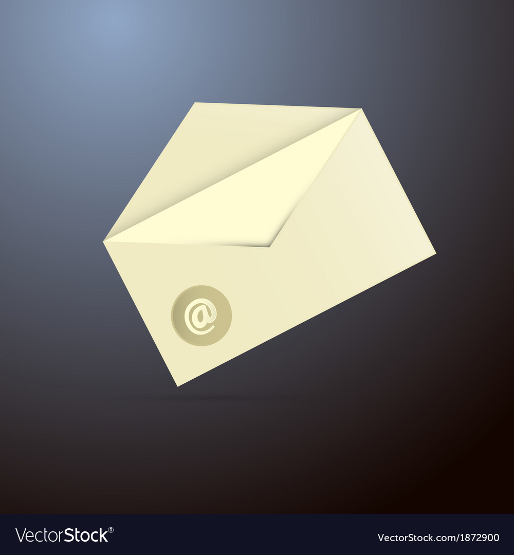 Email envelope icon vector | Price: 1 Credit (USD $1)