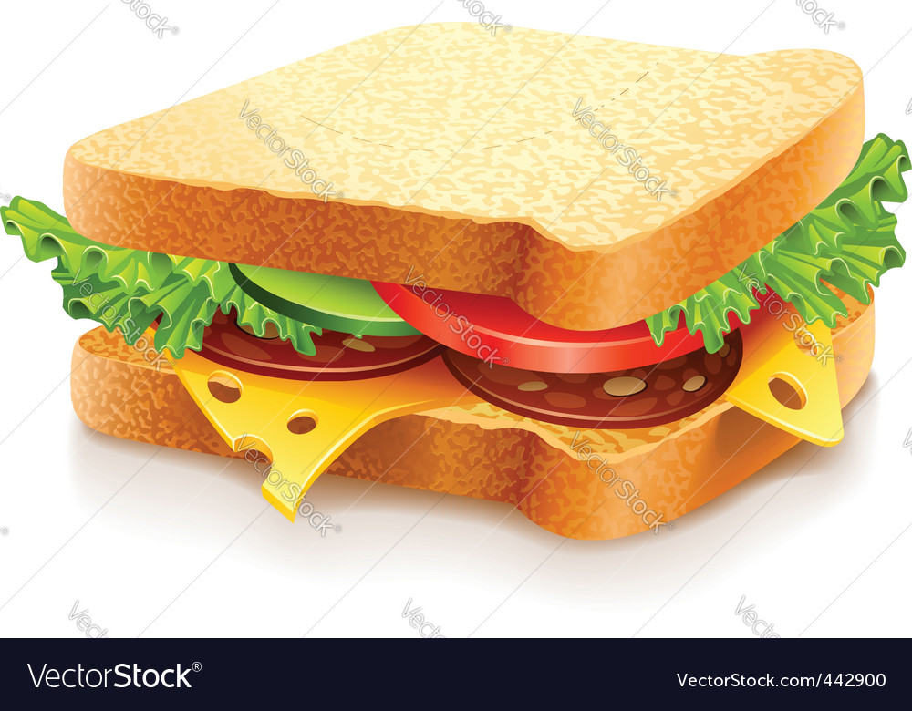 Sandwich vector | Price: 3 Credit (USD $3)