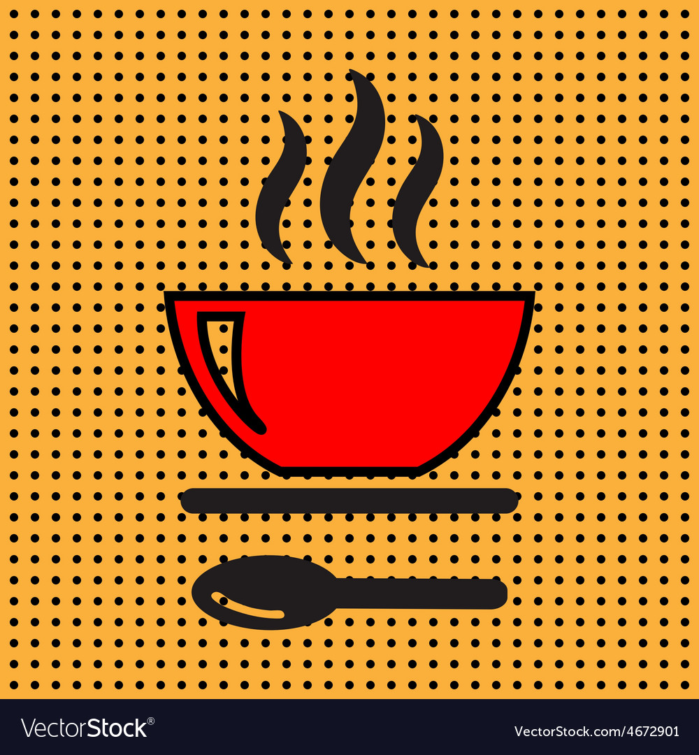 Icon soup vector | Price: 1 Credit (USD $1)