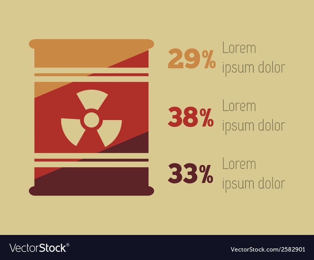 Infographic element vector | Price: 1 Credit (USD $1)