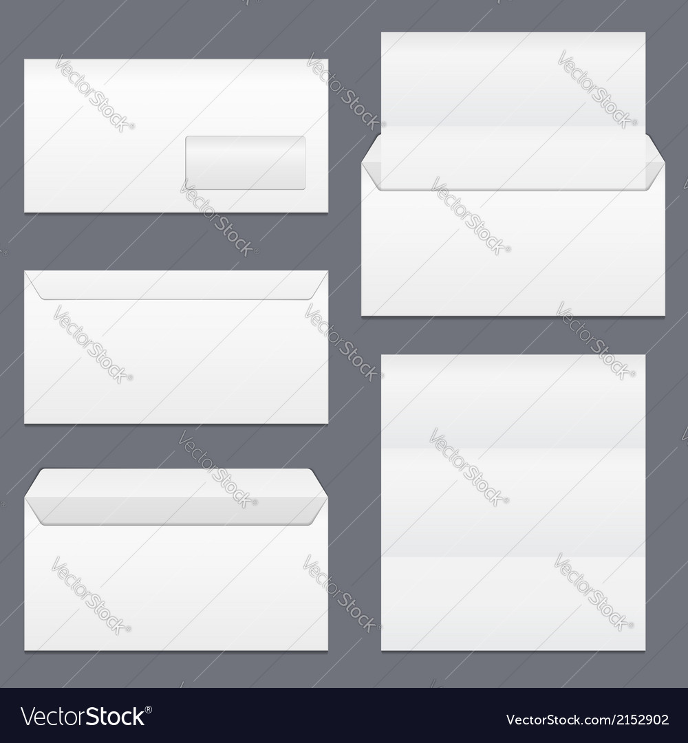 Envelopes and paper vector | Price: 1 Credit (USD $1)