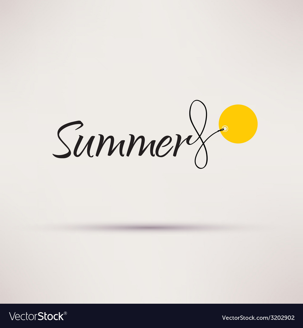 Icon of sale seasonal summer isolated vector | Price: 1 Credit (USD $1)