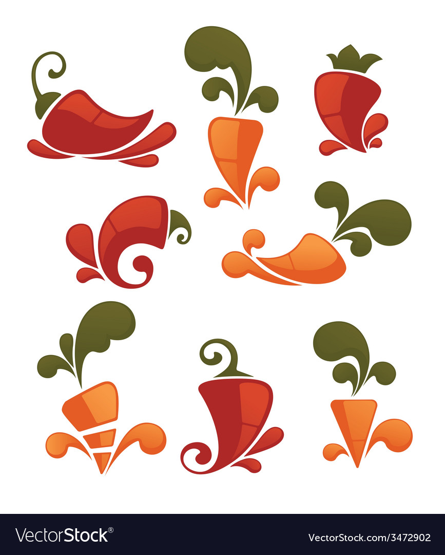 Pepper and carrot vector | Price: 1 Credit (USD $1)