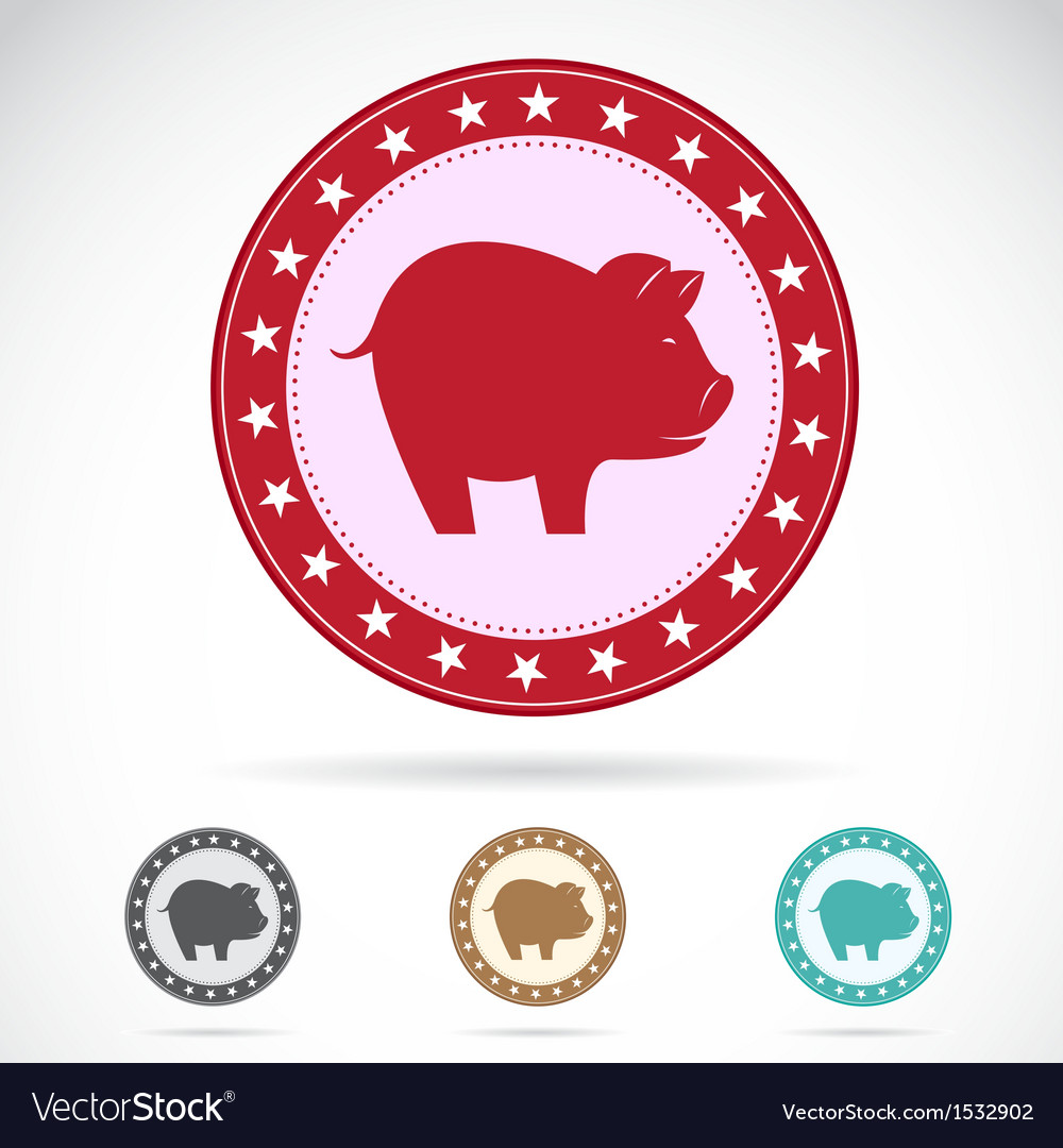 Pig vector | Price: 1 Credit (USD $1)