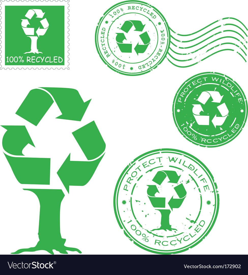 Recycled icons vector | Price: 1 Credit (USD $1)