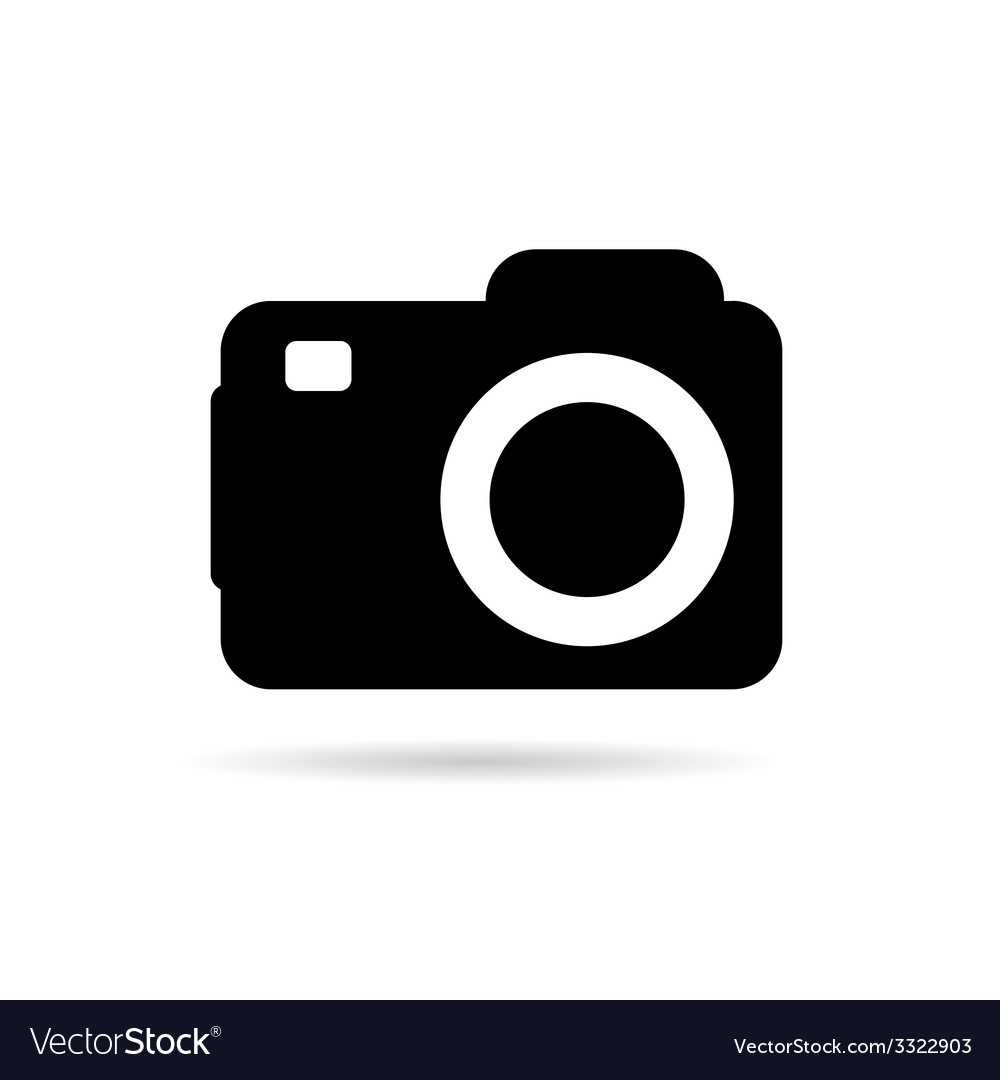 Camera sign vector | Price: 1 Credit (USD $1)