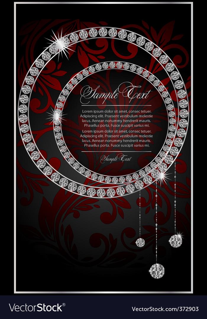 Diamond background vector   Price: 3 Credit (USD $3)