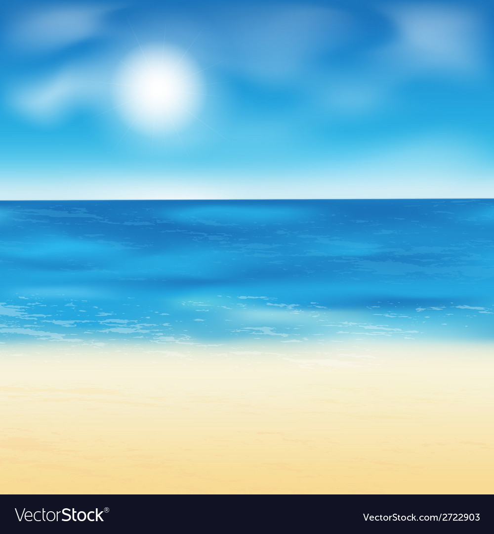 Sand beach background vector | Price: 1 Credit (USD $1)