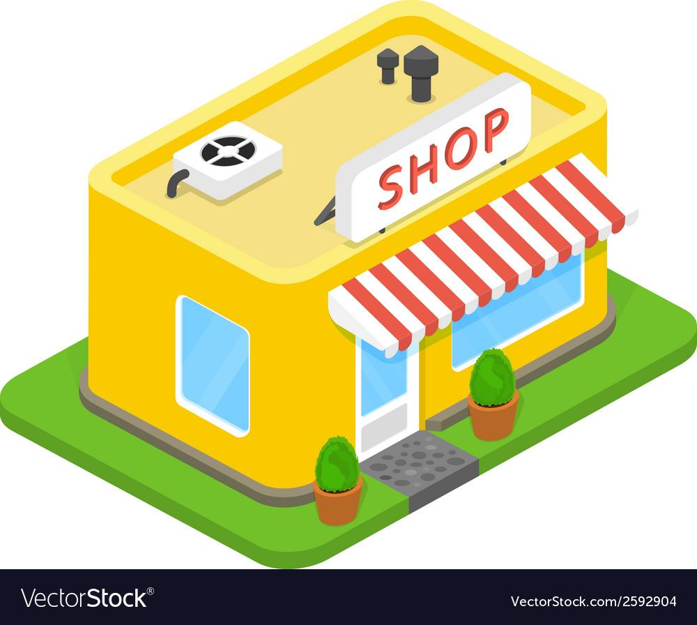 3d shop vector | Price: 1 Credit (USD $1)