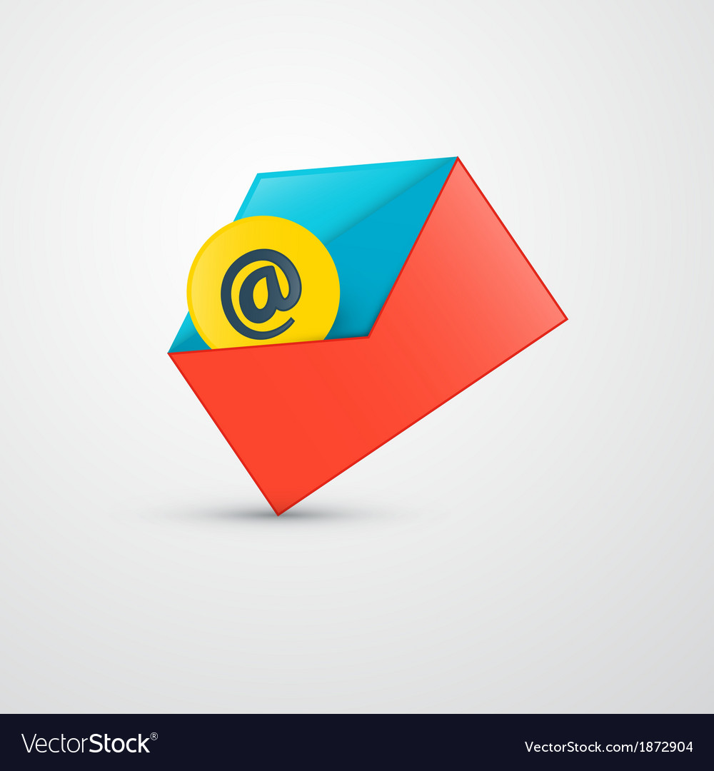 Envelope - e-mail icon vector | Price: 1 Credit (USD $1)