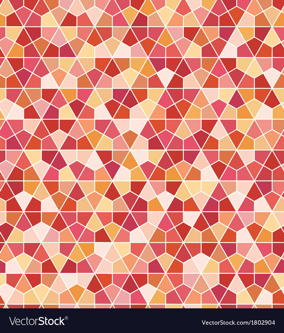 Seamless geometric hexagon pattern vector | Price: 1 Credit (USD $1)