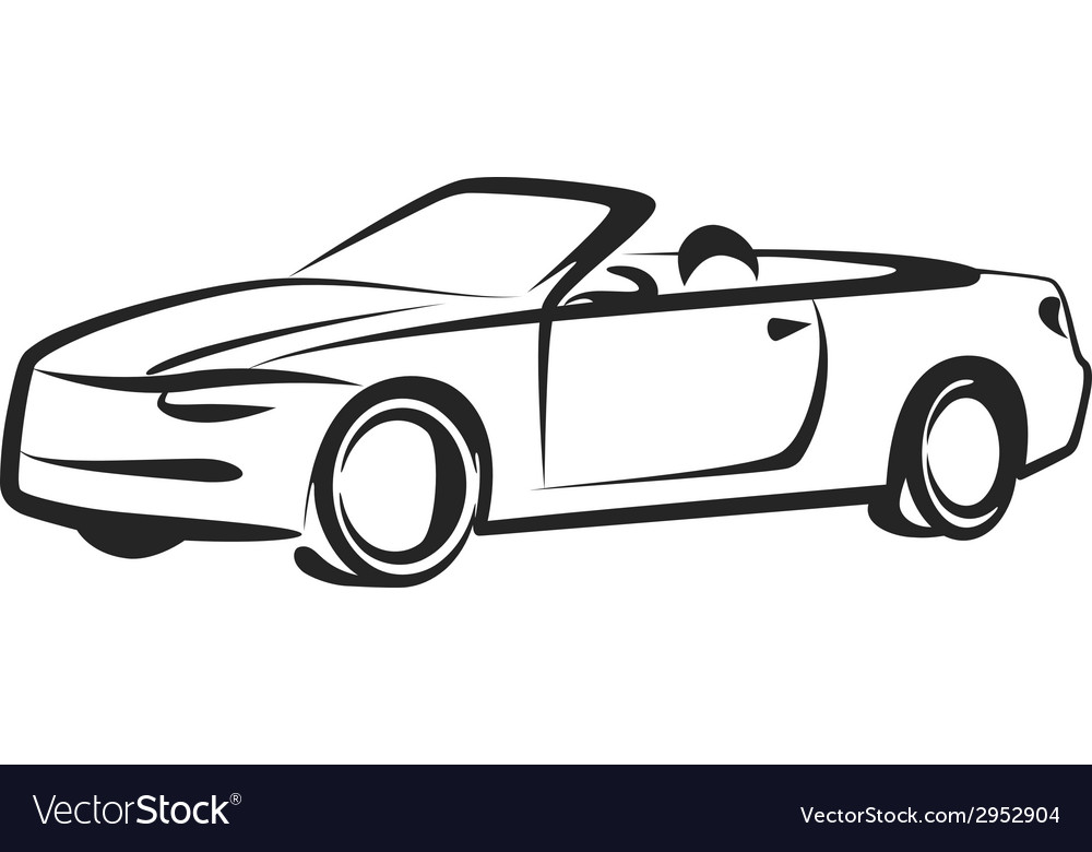Simple with a car vector | Price: 1 Credit (USD $1)