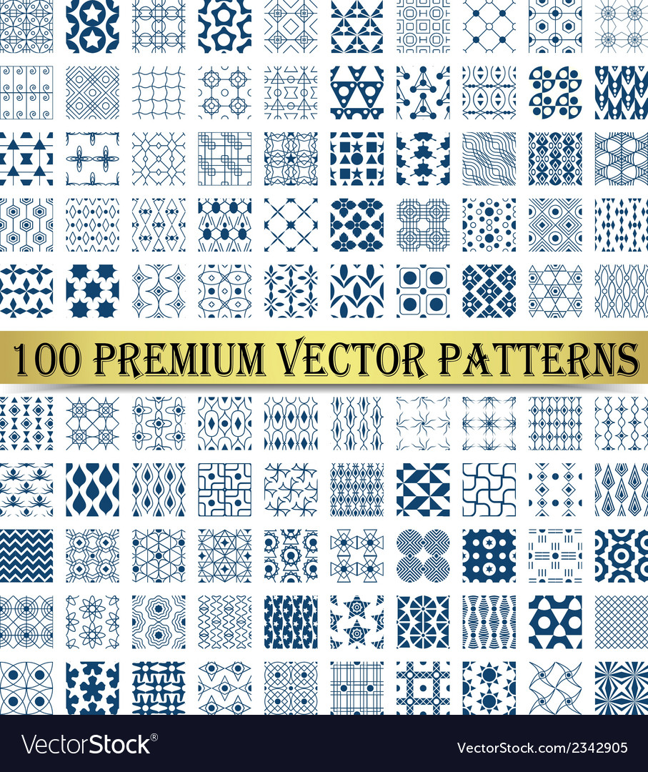 100 premium patterns vector | Price: 1 Credit (USD $1)