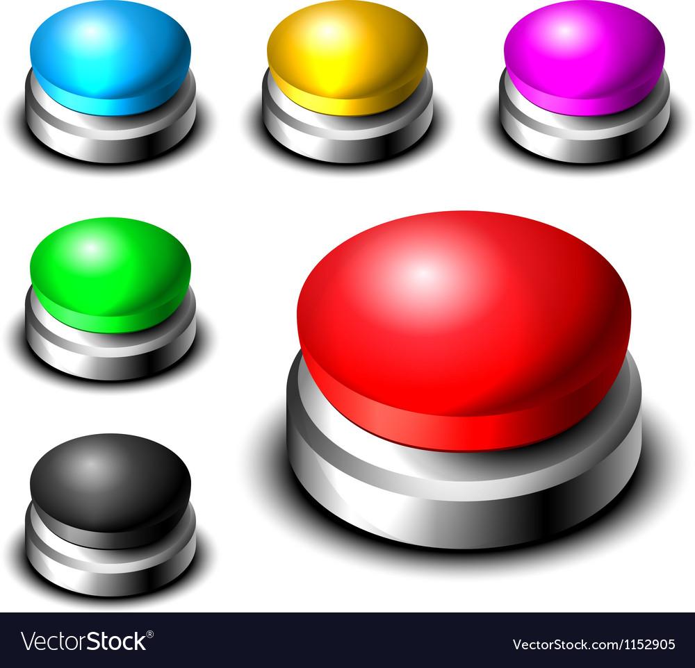 Big button set vector   Price: 1 Credit (USD $1)