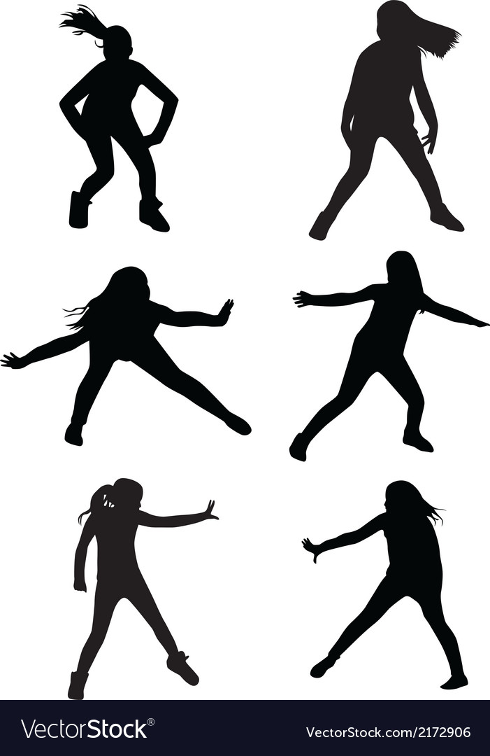Dance street vector | Price: 1 Credit (USD $1)