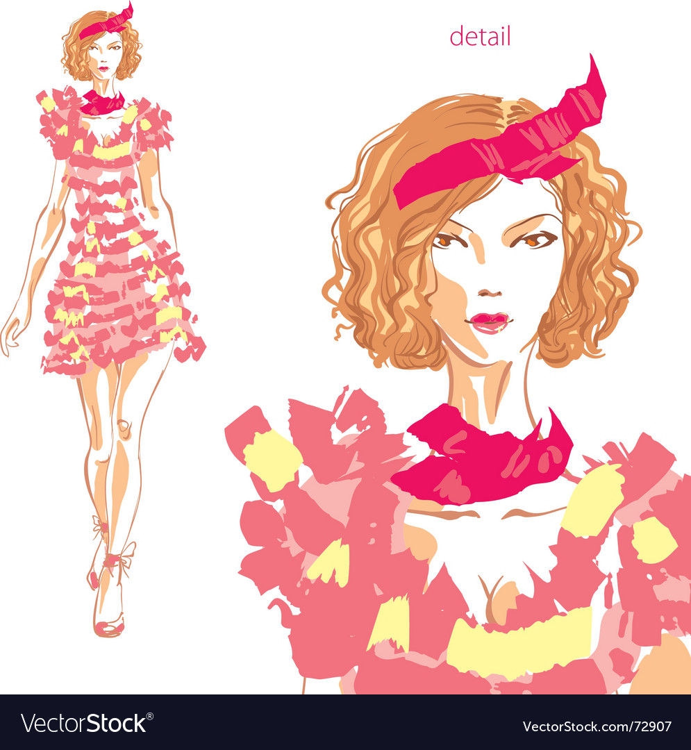Fashion beauty vector | Price: 3 Credit (USD $3)