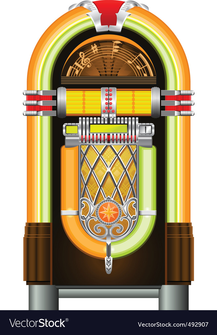 Jukebox vector | Price: 3 Credit (USD $3)