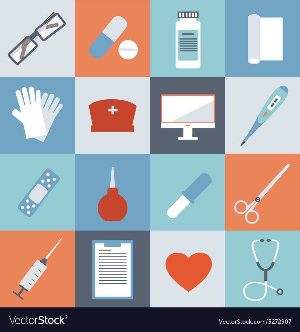 Medicine icons vector | Price: 1 Credit (USD $1)
