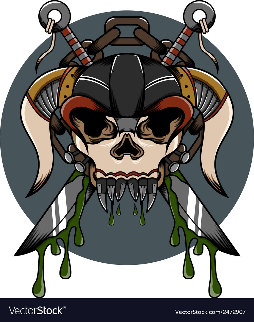 Skull demon hardcore vector | Price: 1 Credit (USD $1)