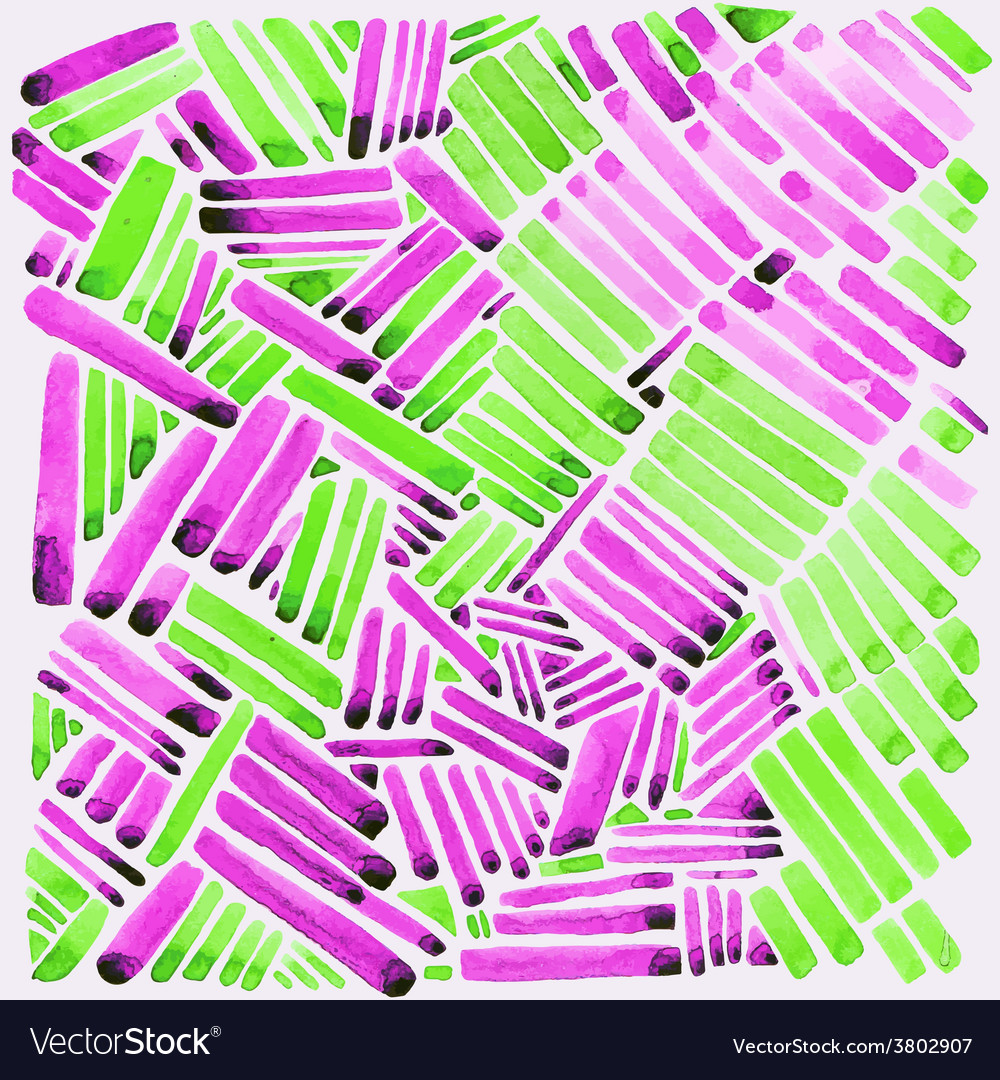 Watercolor stripes pink and green colors easy for vector | Price: 1 Credit (USD $1)